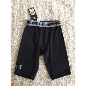 Under Armour compression shorts size M